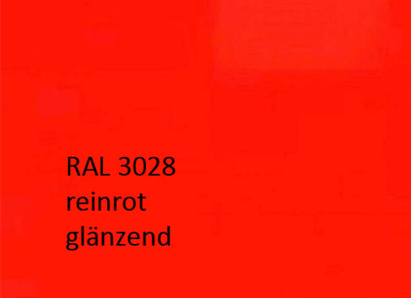 RAL 3028 reinrot,  1,0 kg