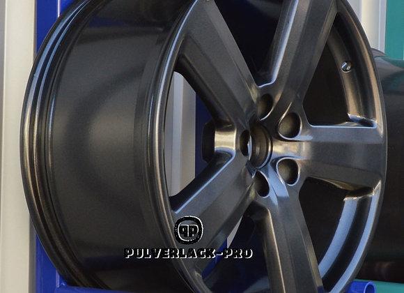 PULVERLACK-CFX-Pro BlackSmoke Effekt-Metallic 1,0 kg glatt/glänzend