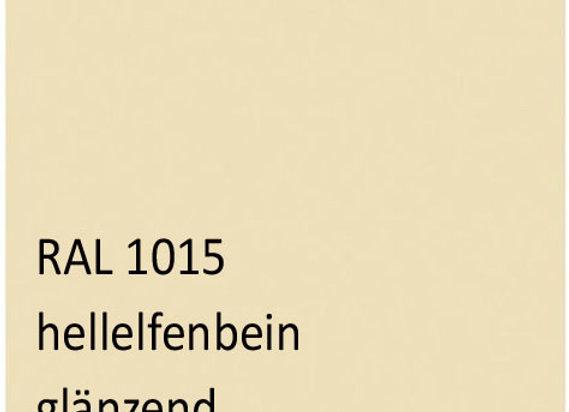 RAL 1015 hellelfenbein 1,0 kg