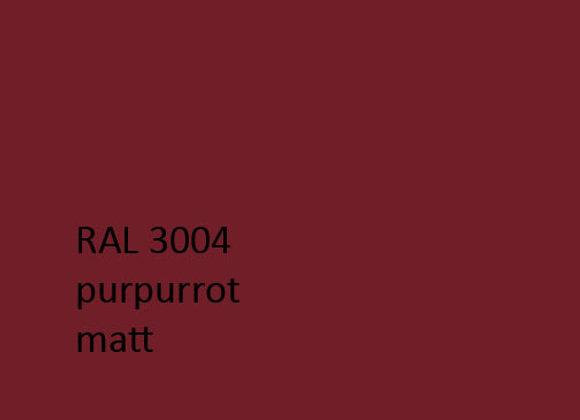 RAL matt 3004 purpurrot,  1,0 kg