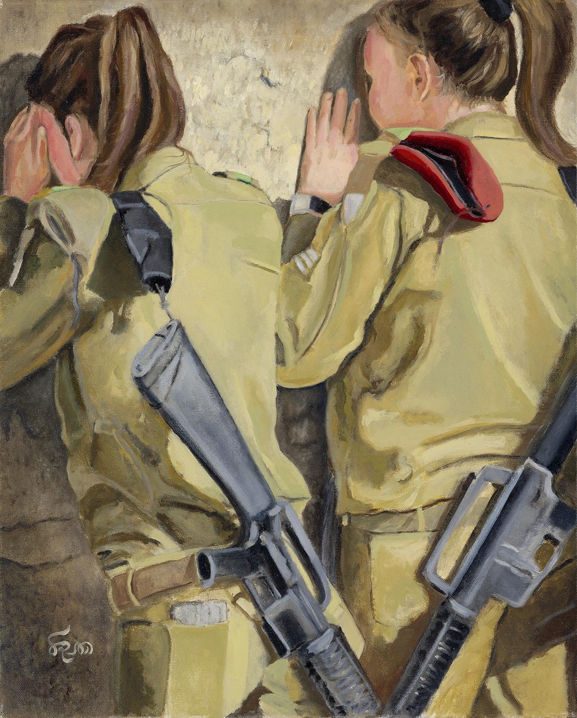 Soldiers in Prayer V