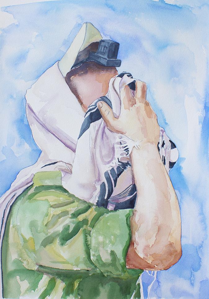 Soldier In Prayer (2)