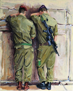 Soldiers in Prayer IV