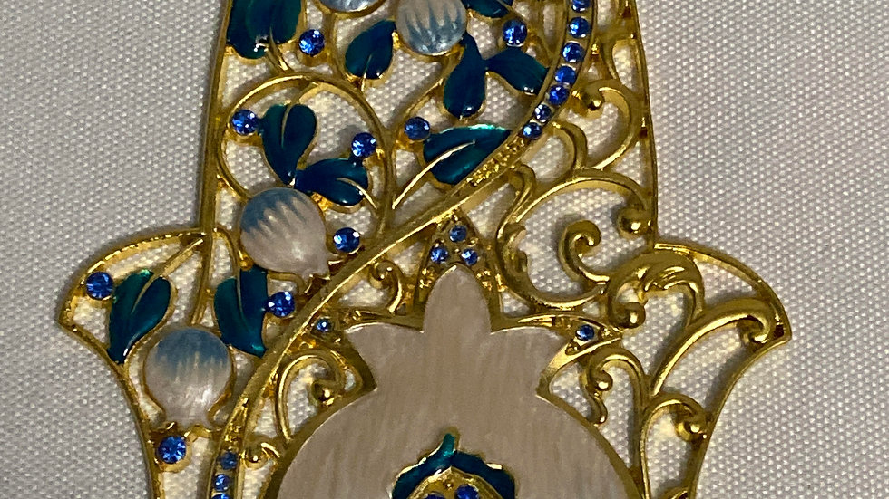 HAMSA Matashi crystals. Hand crafted