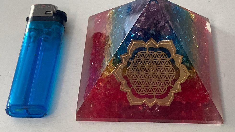 Orgone pyramid chakra