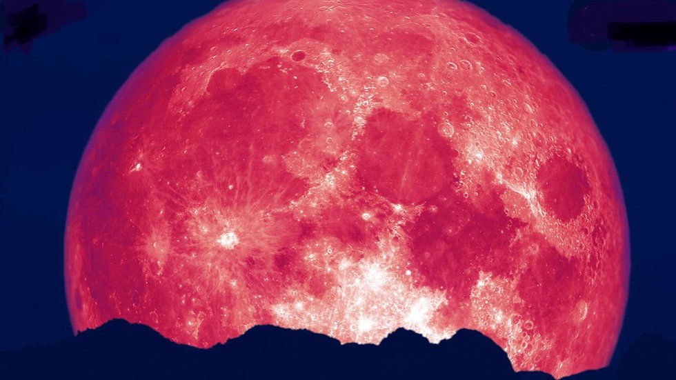 Strawberry Supermoon summer solstice ritual LAST SUPERMOON OF THE YEAR