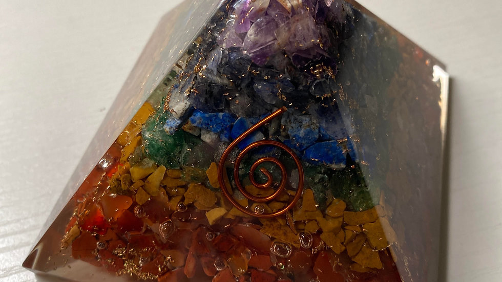 Large Orgone Pyramid. For positive energy