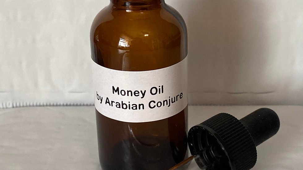 Money Oil w/ dropper small 1 fluid oz. NO REFUNDS OR EXCHANGES