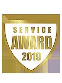 Service Award 2019 par WhatClinic.com