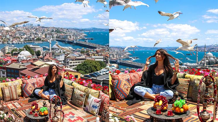 Quartier Historique d'Istanbul. Séance photo de Julie Bertin par BodyExpert