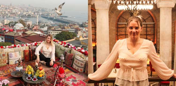 arrivée et accueil à Istanbul de Kay