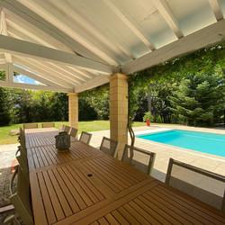 Espace exterieur piscine