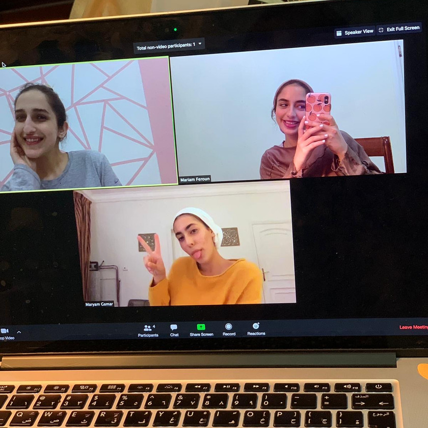 Playwrights meeting on Zoom