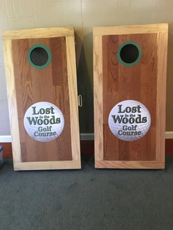 Corn Hole game available for your ev