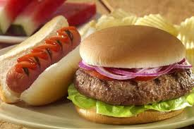 Burgers and Hot Dogs, delicious!
