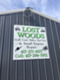 Lost Woods Custom Carts and Service