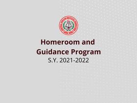 Homeroom and Guidance Program