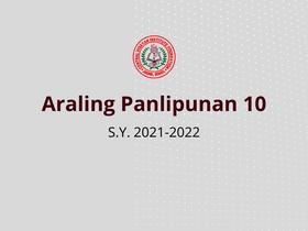 Araling Panlipunan 10