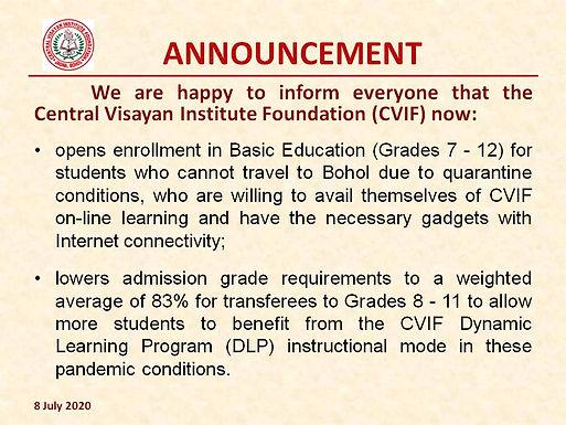 NEW CVIF ANNOUNCEMENT 8 July 2020.jpg