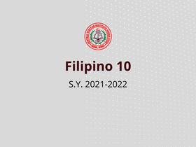 Filipino 10