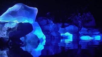 Llevan Icebergs a la ciudad tropical de Sanya a través de tecnologías digitales 3D