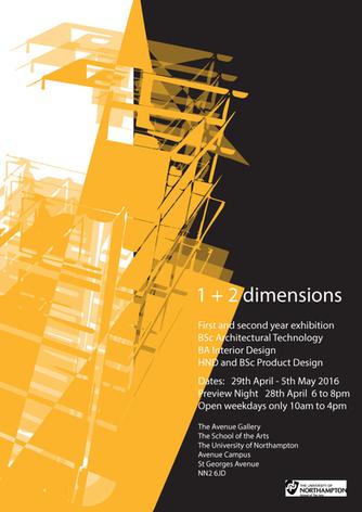 1+2 dimensions Exhibition
