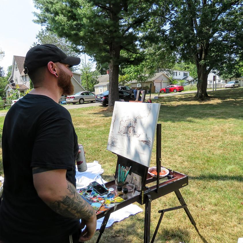 """Third Annual """"En Plein Air"""" Art Event - Sloatsburg-Wide!"""