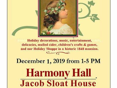 The Spirit of a Victorian Christmas at Harmony Hall 1848-2019