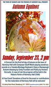 Autumn Equinox Concert