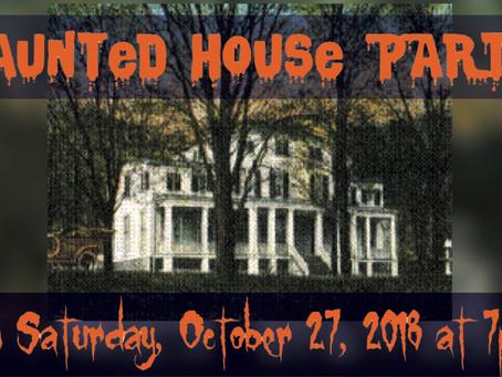 Mischief & Mayhem: Harmony Hall Haunted Halloween Party!