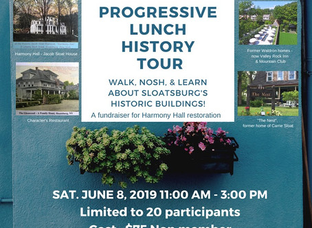 Progressive Lunch History Tour!