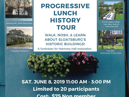 Progressive Lunch History Tour!