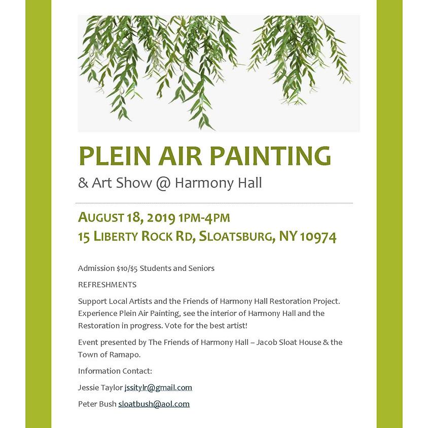 Plein Air Painting at Harmony Hall!