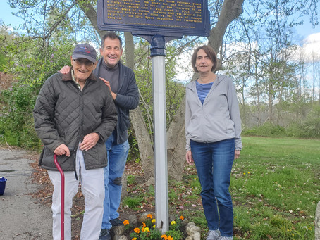 National Historic Marker  Day - April 30