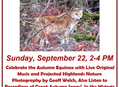 2019 Autumn Equinox Event