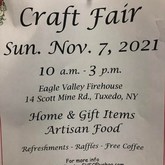 Eagle Valley Craft Fair by EV Volunteer Fire Co. Ladies Auxiliary!
