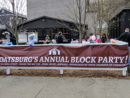 Sloatsburg Chamber Spring Block PartySunday, April 28, from 11 a.m. to 3 p.m.