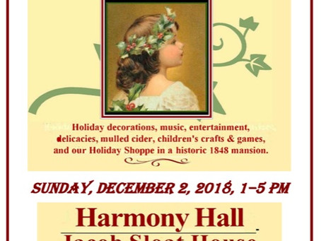 2018 Victorian Holiday Event!