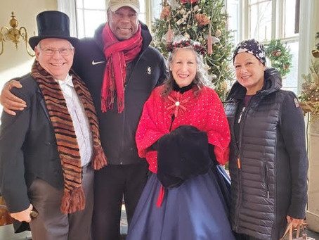 Harmony Hall welcomes guests to Victorian Holiday during WinterFest!