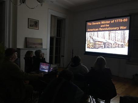 The Severe Winter of 1779/80 Presentation.