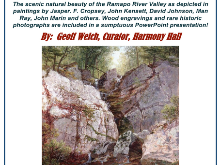 Art of the Ramapo Valley at Harmony Hall!
