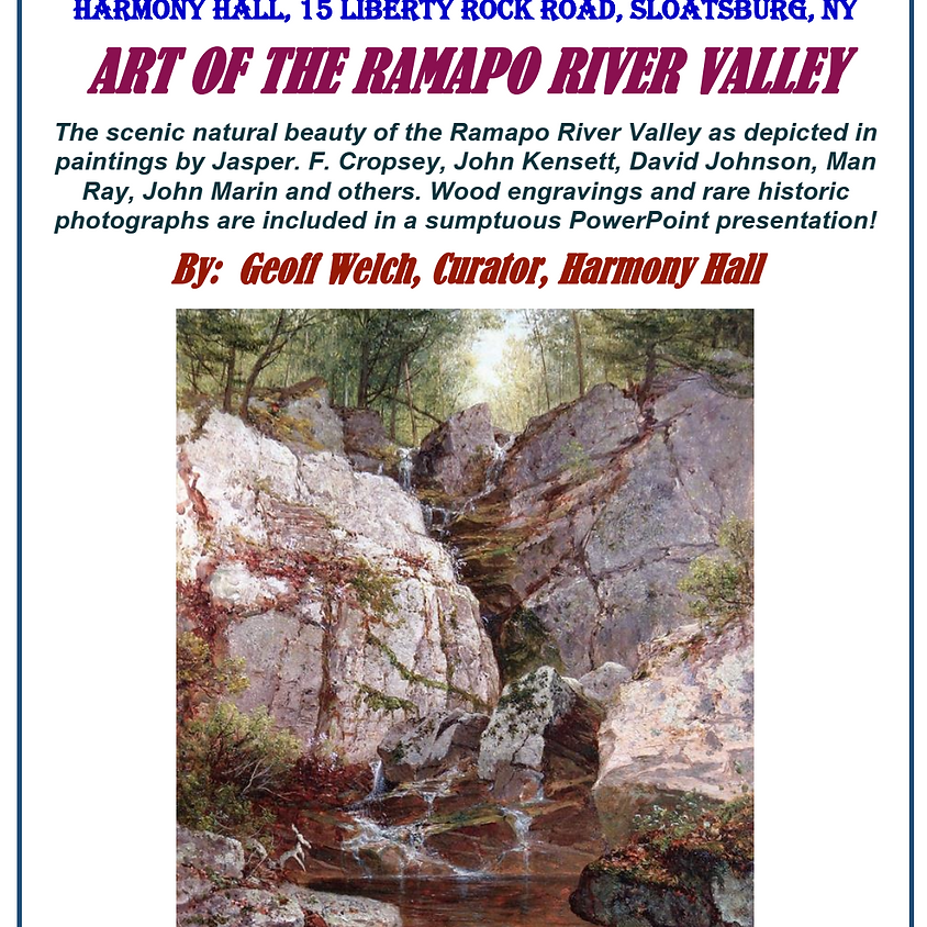 Art of the Ramapo Valley!