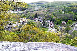 View of Sloatsburg from Liberty Rock