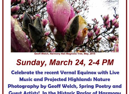 Spring Equinox 2019 at Harmony Hall!