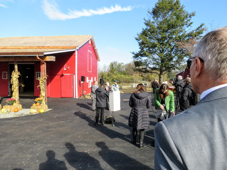Cropsey Barn Ribbon Cutting