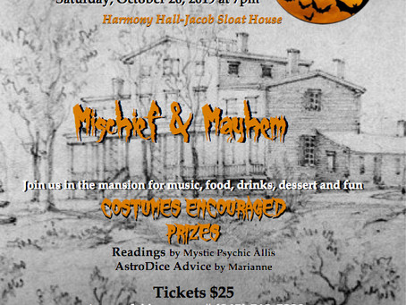 5th Annual Mischief & Mayhem Haunted House Party!