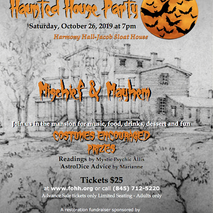 5th Annual Mischief & Mayhem: Haunted House Party:
