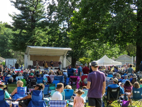A Boffo 10th Annual Highlands Bluegrass Music Festival!