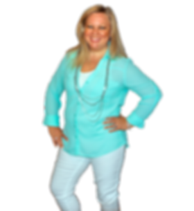 4893 square green blouse standing up sid