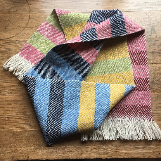 Hattersley Scarf: Sprung Gumption